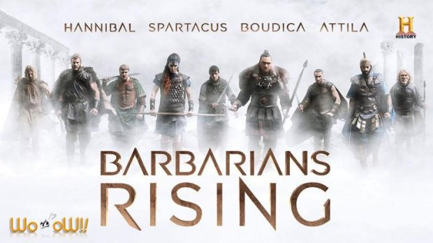 Barbarians Rising - TV Series